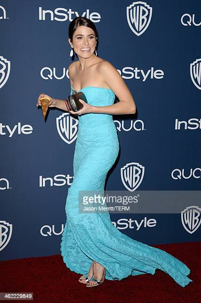 Actress Nikki Reed attends the 2014 InStyle and Warner Bros 71st Annual Golden Globe Awards PostParty on January 12 2014 in Beverly Hills California