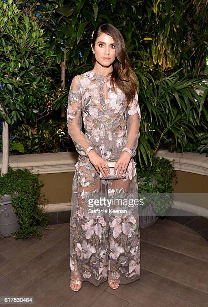 Actress Nikki Reed attends the 23rd Annual ELLE Women In Hollywood Awards at Four Seasons Hotel Los Angeles at Beverly Hills on October 24 2016 in...