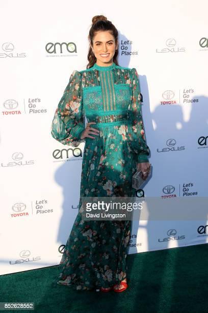 Actress Nikki Reed attends the 27th Annual EMA Awards at Barker Hangar on September 23 2017 in Santa Monica California