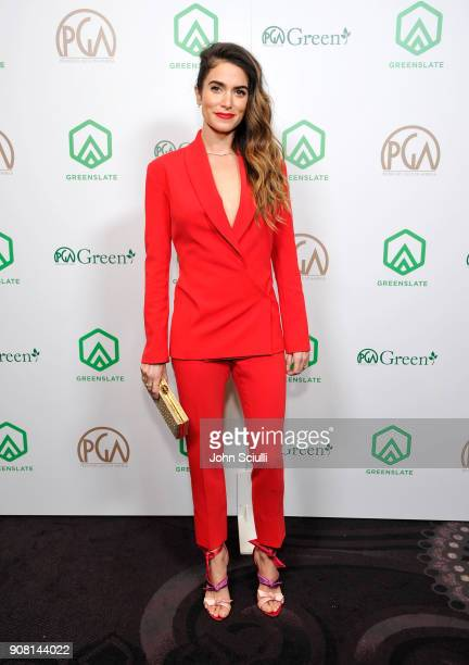 Actress Nikki Reed attends the 29th Annual Producers Guild Awards supported by GreenSlate at The Beverly Hilton Hotel on January 20 2018 in Beverly...