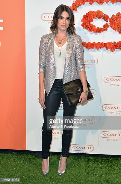 Actress Nikki Reed attends the 3rd Annual Coach Evening to benefit Children's Defense Fund at Bad Robot on April 10 2013 in Santa Monica California