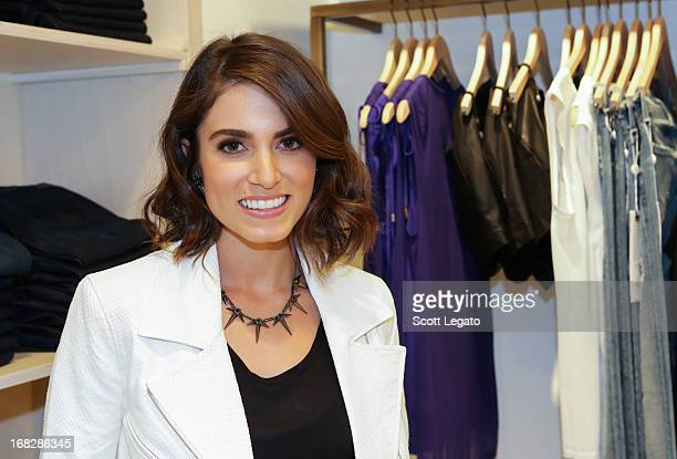 Actress Nikki Reed attends the 7 For All Mankind x Nikki Reed Jewelry Collection Launch on May 7 2013 in Troy Michigan