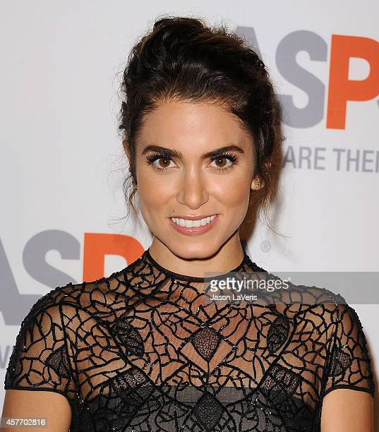 Actress Nikki Reed attends the ASPCA event on October 22 2014 in Bel Air California