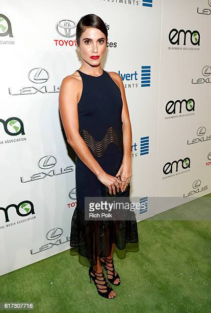 Actress Nikki Reed attends the Environmental Media Association 26th Annual EMA Awards Presented By Toyota Lexus And Calvert at Warner Bros Studios on...