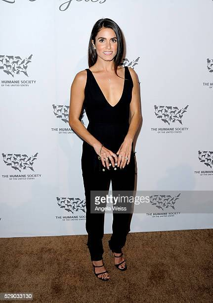 Actress Nikki Reed attends The Humane Society of the United States' to the Rescue Gala at Paramount Studios on May 7 2016 in Hollywood California