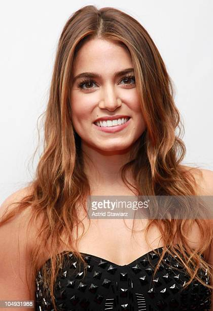 Actress Nikki Reed attends the launch of the Swatch 'New Gents Collection' at the Gansevoort Park Avenue on October 6 2010 in New York City