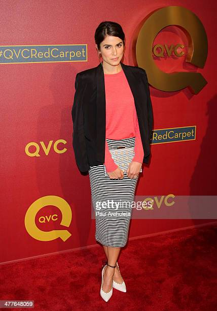 Actress Nikki Reed attends the QVC 5th Annual Red Carpet Style event at The Four Seasons Hotel on February 28 2014 in Beverly Hills California