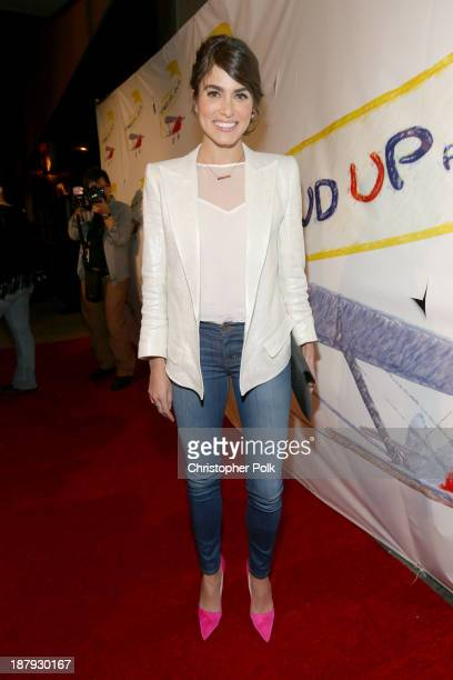 Actress Nikki Reed attends the Stand Up For Gus Benefit at Bootsy Bellows on November 13 2013 in West Hollywood California