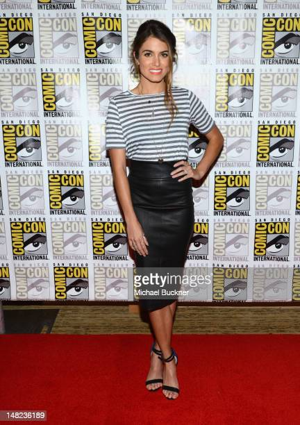 Actress Nikki Reed attends The Twilight Saga Breaking Dawn Part 2 during ComicCon International 2012 at San Diego Convention Center on July 12 2012...