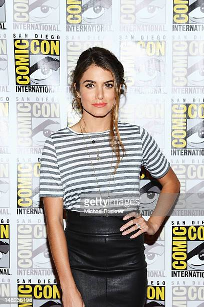 Actress Nikki Reed attends 'The Twilight Saga Breaking Dawn Part 2' during ComicCon International 2012 at San Diego Convention Center on July 12 2012...