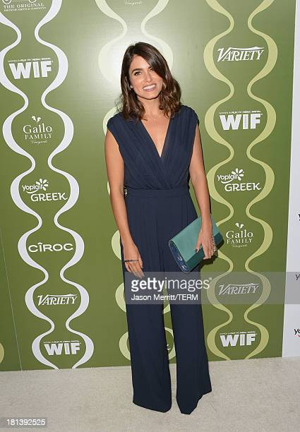 Actress Nikki Reed attends Variety Women In Film PreEmmy Event presented by Yoplait Greek at Scarpetta on September 20 2013 in Beverly Hills...