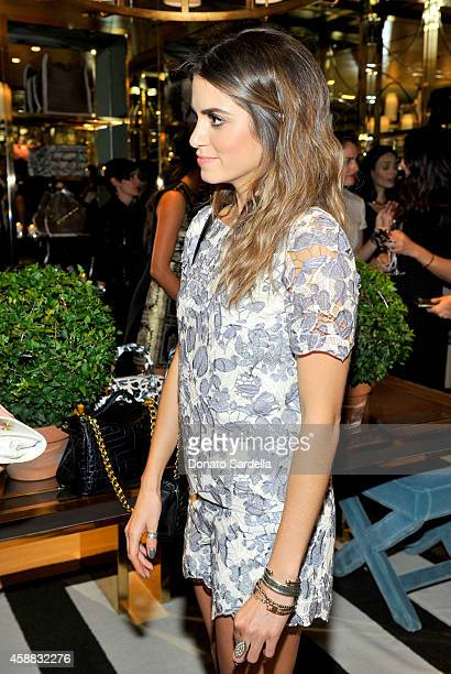 43dae37accc Actress Nikki Reed attends Vogue and Tory Burch celebrate the Tory Burch  Watch Collection at Tory