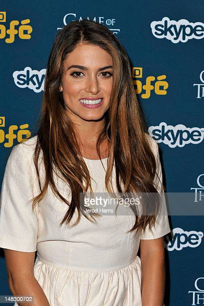 Actress Nikki Reed attends WIRED Cafe At ComicCon held at Palm Terrace at the Omni Hotel on July 13 2012 in San Diego California