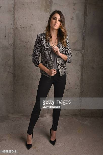 Actress Nikki Reed from 'Intramural' poses for the Tribeca Film Festival Getty Images Studio on April 21 2014 in New York City