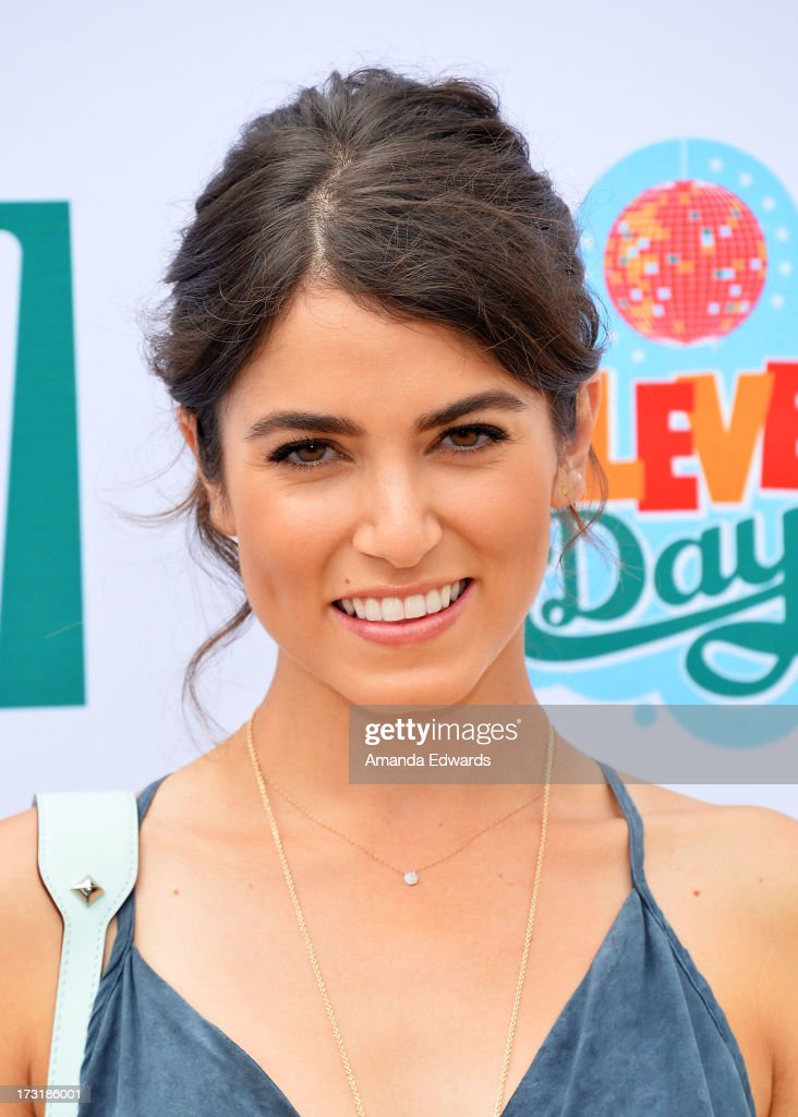 Actress Nikki Reed hosts 7-Eleven's 86th birthday at a private residence on July 9, 2013 in Malibu, California.