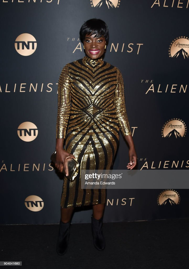 "Premiere Of TNT's ""The Alienist"" - Arrivals : News Photo"