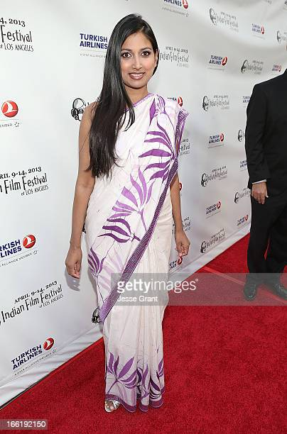 Actress Nimmi Harasgama attends the Indian Film Festival of Los Angeles Opening Night Gala for Gangs Of Wasseypur at ArcLight Cinemas on April 9 2013...