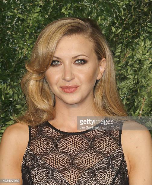 Actress Nina Arianda attends the 12th annual CFDA/Vogue Fashion Fund Awards at Spring Studios on November 2 2015 in New York City
