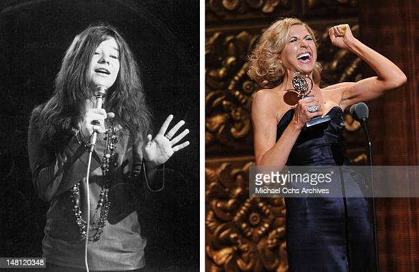 In this composite image a comparison has been made between Janis Joplin and actress Nina Arianda Tony winner Nina Arianda will reportedly play singer...