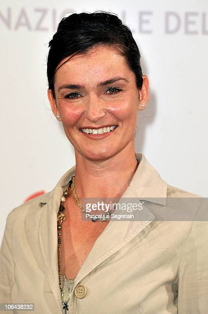 Actress Nina Deasley poses at the Little Sparrows photocall during The 5th International Rome Film Festival at Auditorium Parco Della Musica on...