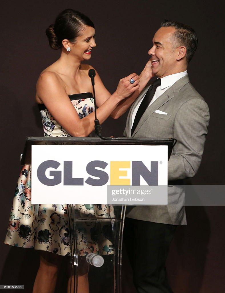 2016 GLSEN Respect Awards - Los Angeles - Inside : News Photo