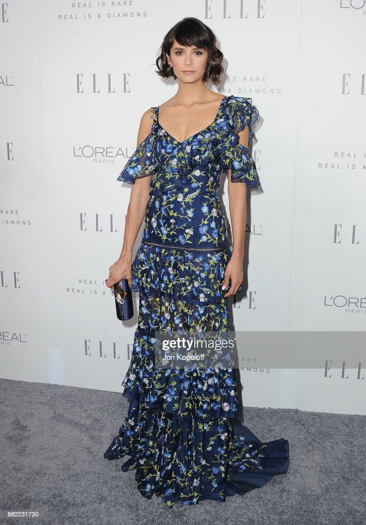 Actress Nina Dobrev arrives at ELLE's 24th Annual Women in Hollywood Celebration at Four Seasons Hotel Los Angeles at Beverly Hills on October 16, 2017 in Los Angeles, California.