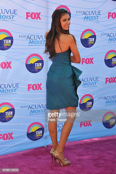 Actress Nina Dobrev arrives at the 2012 Teen Choice Awards held at the Gibson Amphitheatre in Universal City California