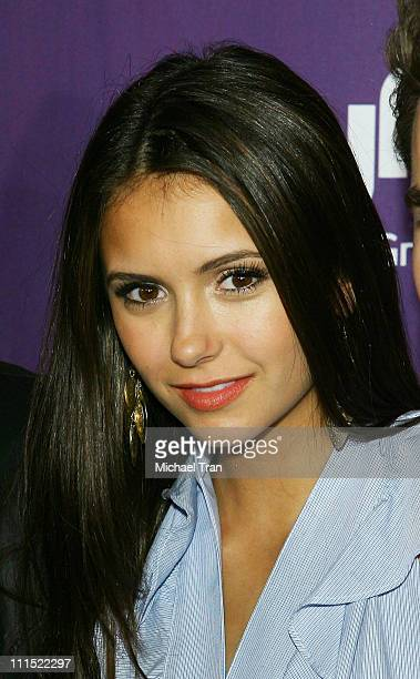 Actress Nina Dobrev arrives at the EW and Syfy ComicCon party held at the Hotel Solamar July 25 2009 in San Diego California