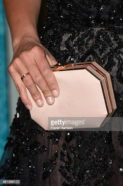 Actress Nina Dobrev attends HBO's Post 2015 Golden Globe Awards Party at Circa 55 Restaurant on January 11 2015 in Los Angeles California