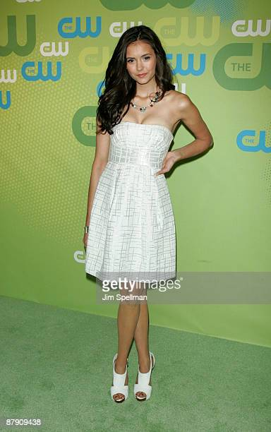 Actress Nina Dobrev attends the 2009 The CW Network UpFront at Madison Square Garden on May 21 2009 in New York City