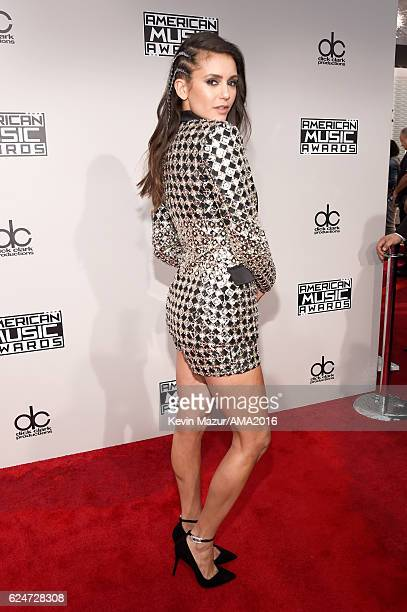 Actress Nina Dobrev attends the 2016 American Music Awards at Microsoft Theater on November 20 2016 in Los Angeles California