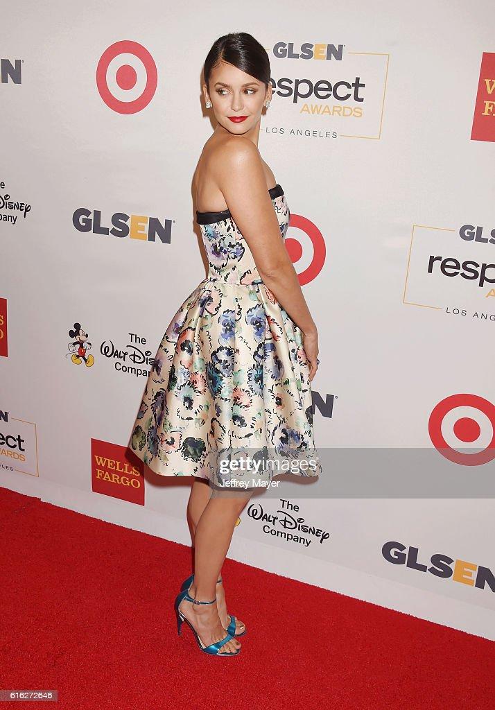 2016 GLSEN Respect Awards - Arrivals : News Photo