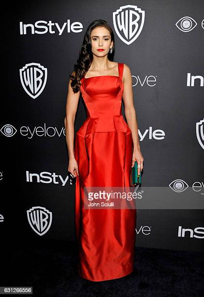Actress Nina Dobrev attends The 2017 InStyle and Warner Bros 73rd Annual Golden Globe Awards PostParty at The Beverly Hilton Hotel on January 8 2017...