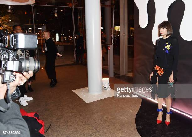 Actress Nina Dobrev attends the 2017 Whitney Art Party at The Whitney Museum of American Art on November 14 2017 in New York City