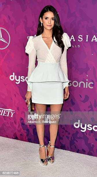 Actress Nina Dobrev attends the 2nd Annual StyleMaker Awards hostd by Variety and WWD at Quixote Studios West Hollywood on November 17 2016 in West...