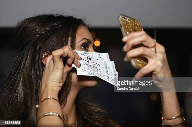 Actress Nina Dobrev attends 'The Final Girls' Party during the 2015 SXSW Music Film Interactive Festival at Swift's Attic on March 13 2015 in Austin...