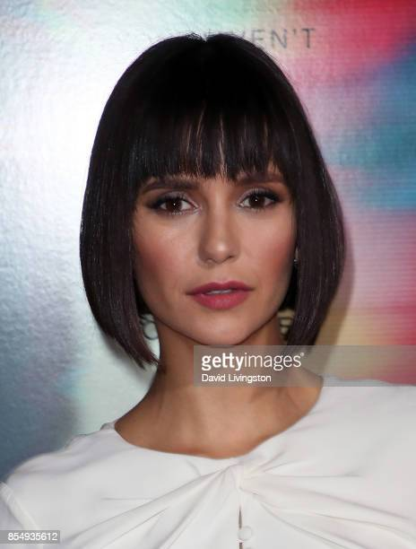 Actress Nina Dobrev attends the premiere of Columbia Pictures' 'Flatliners' at The Theatre at Ace Hotel on September 27 2017 in Los Angeles California
