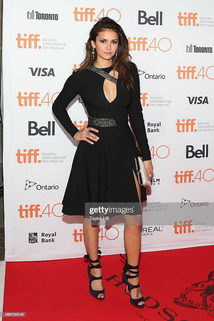 Actress Nina Dobrev attends the premiere of 'The Final Girls' at Ryerson Theatre during the 2015 Toronto International Film Festival on September 19, 2015 in Toronto, Canada.