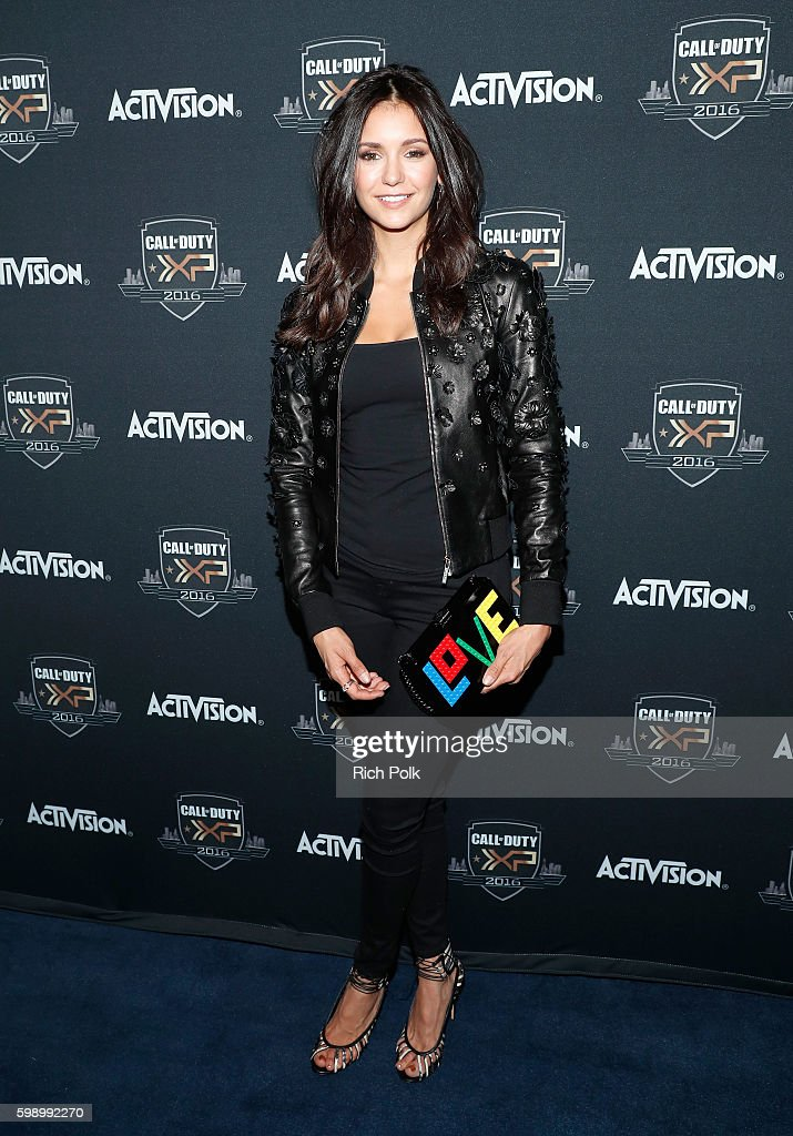 Actress Nina Dobrev attends The Ultimate Fan Experience, Call Of Duty XP 2016, presented by Activision, at The Forum on September 3, 2016 in Inglewood, California.