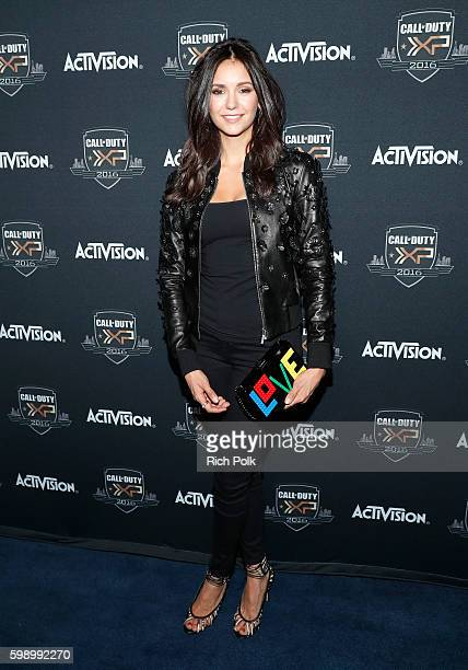 Actress Nina Dobrev attends The Ultimate Fan Experience Call Of Duty XP 2016 presented by Activision at The Forum on September 3 2016 in Inglewood...