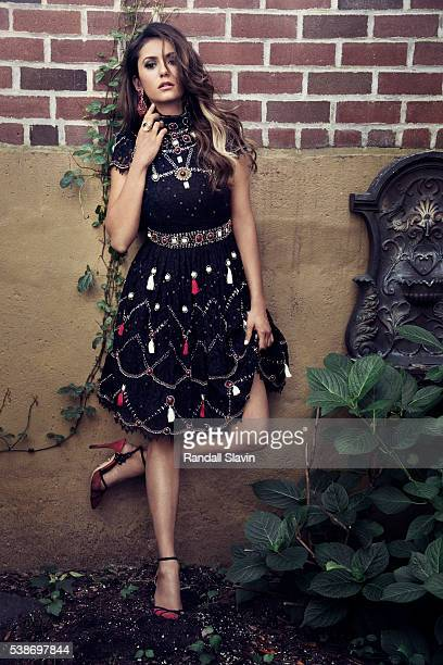 Actress Nina Dobrev is photographed for Alexa on August 5 2014 in New York City