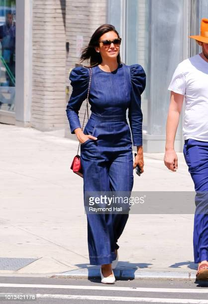 Celebrity Sightings In New York City August 8 2018 Stock Photos and ... 79cee2928