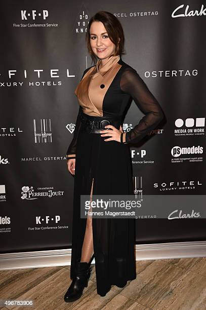Actress Nina Fischer during the 'Marcel Ostertag Charity Fashion Show 2015' at Sofitel Munich Bayerpost on November 11 2015 in Munich Germany