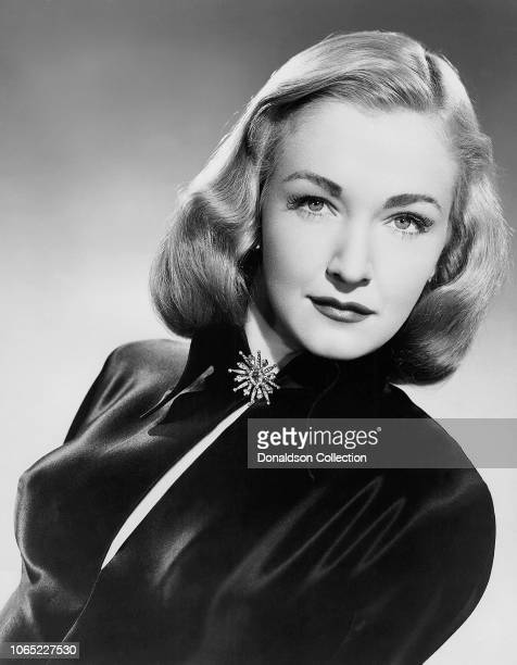 Actress Nina Foch in a scene from the movie Johnny Allegro