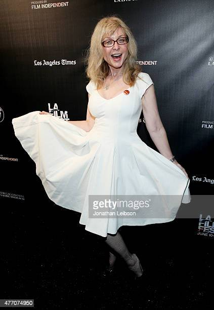 Actress Nina Hartley attends the Dude Bro Party Massacre III and SheVenge screenings during the 2015 Los Angeles Film Festival at Regal Cinemas LA...