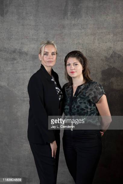 Actress Nina Hoss and director Katrin Gebbe from 'Pelican Blood' are photographed for Los Angeles Times on September 9, 2019 at the Toronto...