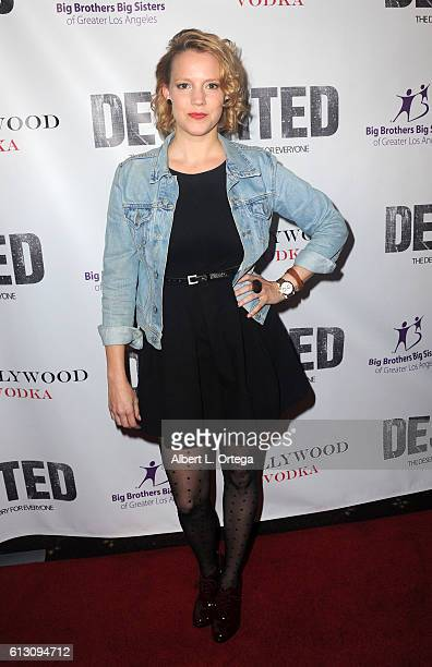 Actress Nina Rausch arrives for the Premiere Of Winterstone Pictures' Deserted held at Majestic Crest Theatre on October 6 2016 in Los Angeles...