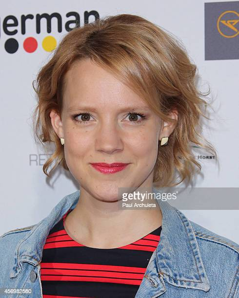 Actress Nina Rausch attends the 8th annual Festival Of German Films opening night gala at the Egyptian Theatre on October 9 2014 in Hollywood...