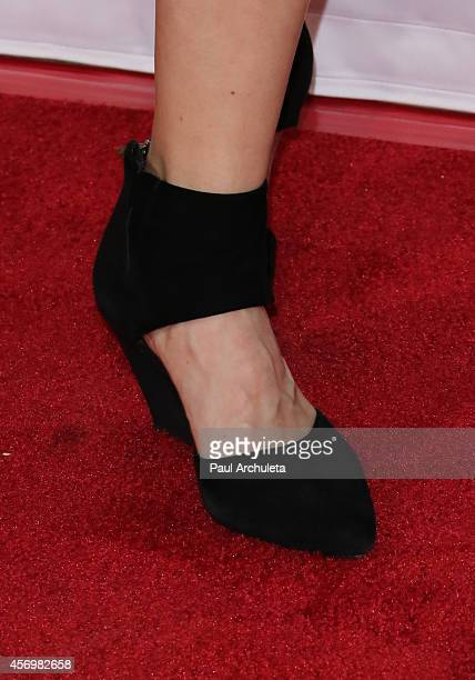 Actress Nina Rausch attends the 8th annual Festival Of German Films opening night gala at the Egyptian Theatre on October 9, 2014 in Hollywood,...