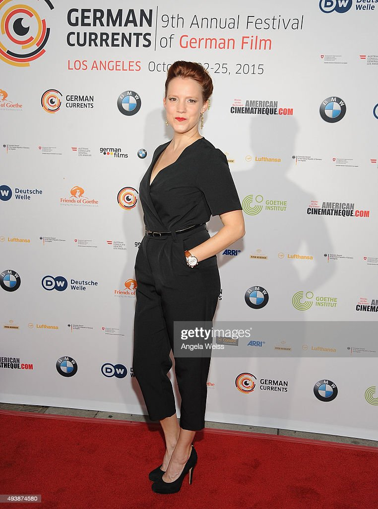 9th Annual German Currents Festival Of German Film - Opening Night Red Carpet Gala : News Photo